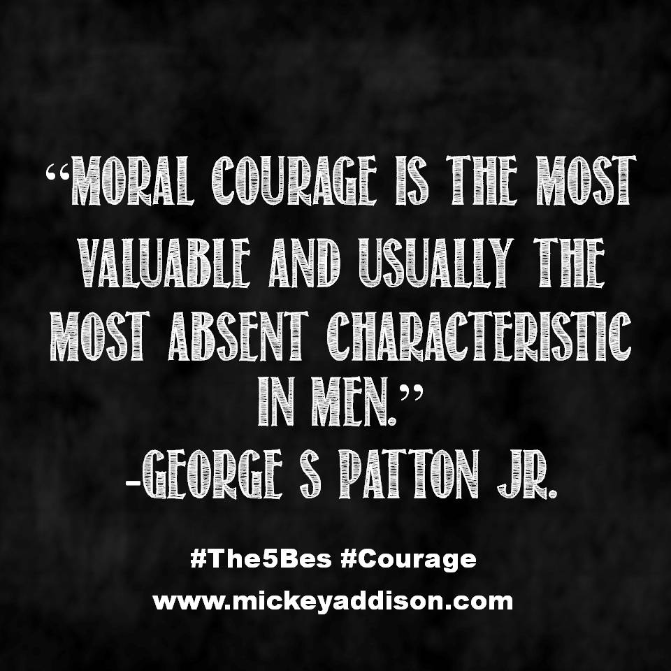 Moral Courage Patton