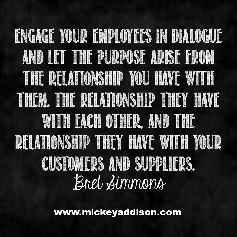 Engage in Dialogue