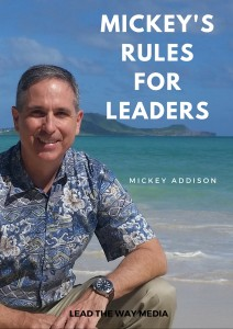 Mickey's Rules for Leaders eBook Cover
