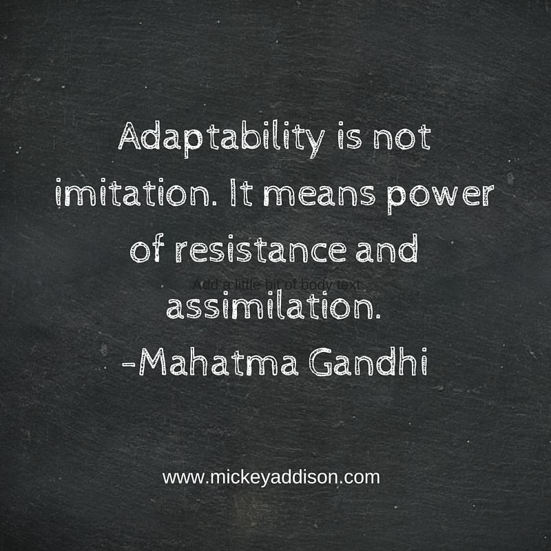 Monday Motivation - Gandhi