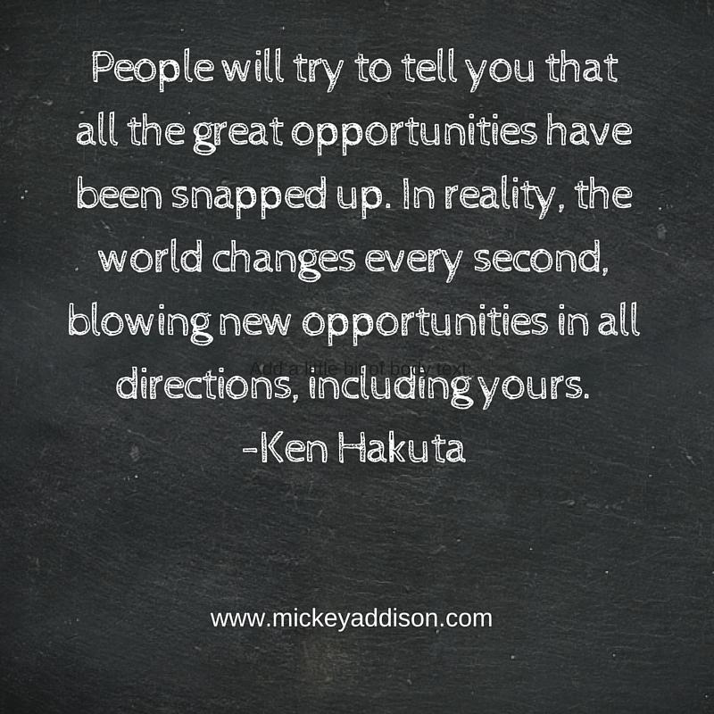 Monday Motivation - Hakuta